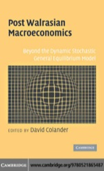 """Post Walrasian Macroeconomics"" (9780511223303)"