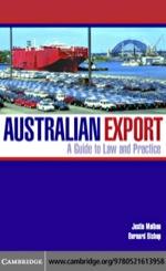 """""""Australian Export"""" (9780511223334)"""