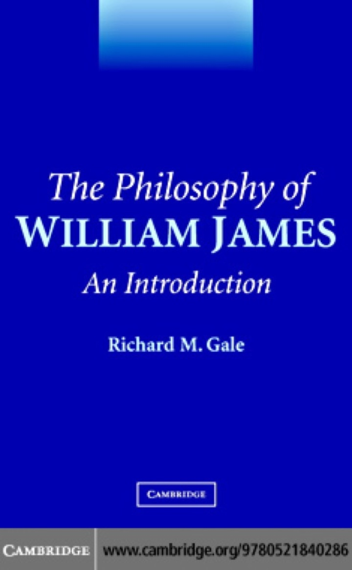 The Philosophy of William James