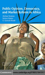 """""""Public Opinion, Democracy, and Market Reform in Africa"""" (9780511227011)"""