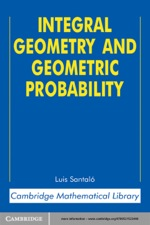 """""""Integral Geometry and Geometric Probability"""" (9780511227035)"""