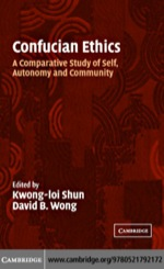 """Confucian Ethics"" (9780511227424)"
