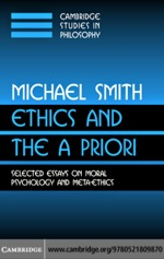 """""""Ethics and the A Priori"""" (9780511227448)"""