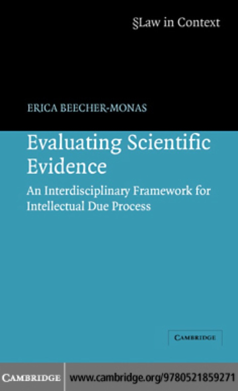 Evaluating Scientific Evidence