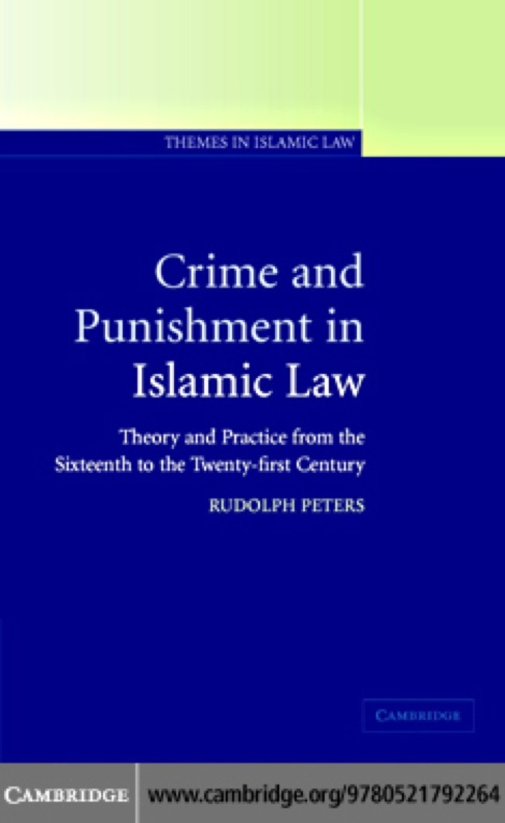 Crime and Punishment in Islamic Law