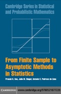 From Finite Sample to Asymptotic Methods in Statistics 9780511637001