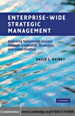 """Enterprise-Wide Strategic Management"" (9780511687532)"
