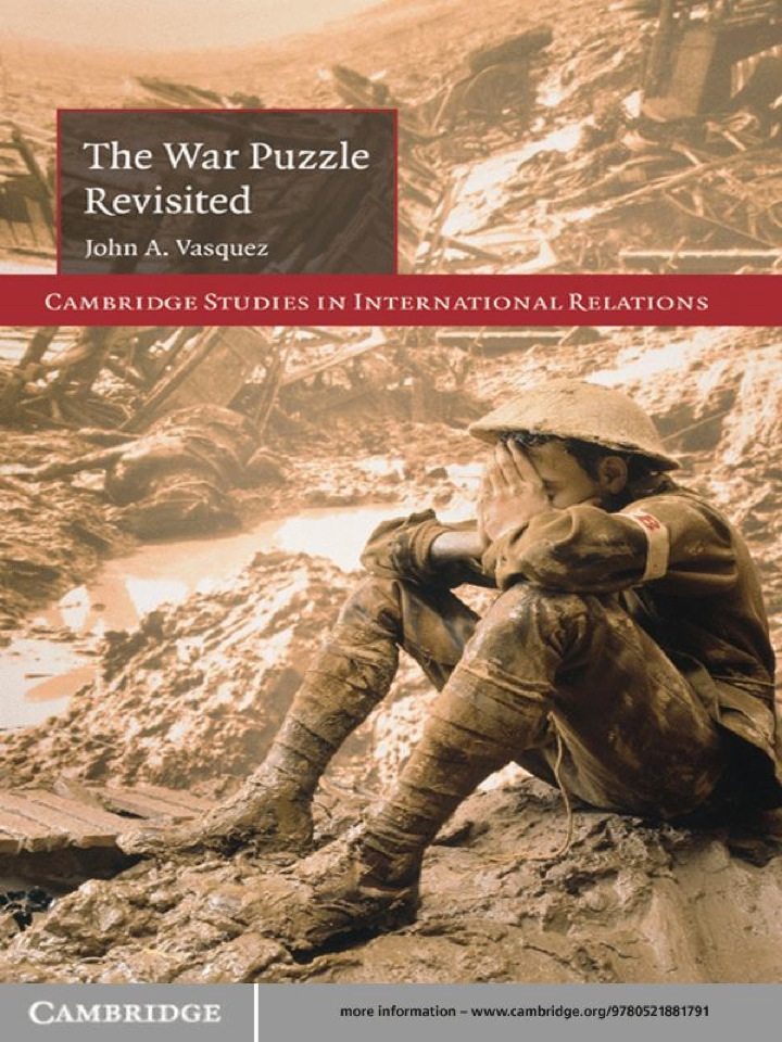 The War Puzzle Revisited