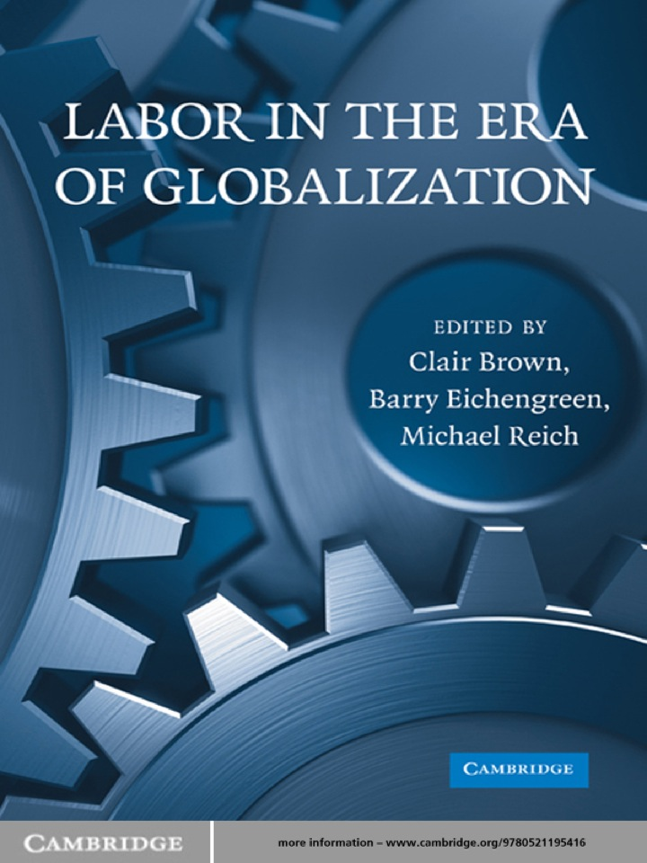 Labor in the Era of Globalization