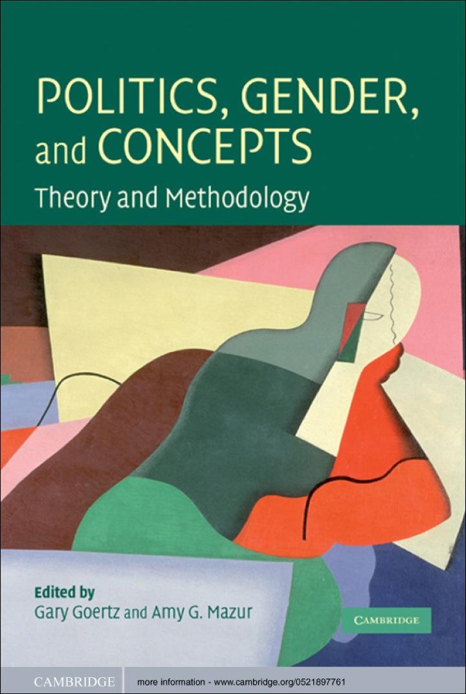 Politics, Gender, and Concepts