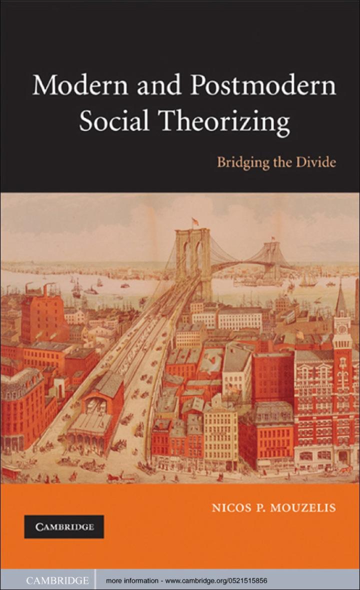 Modern and Postmodern Social Theorizing