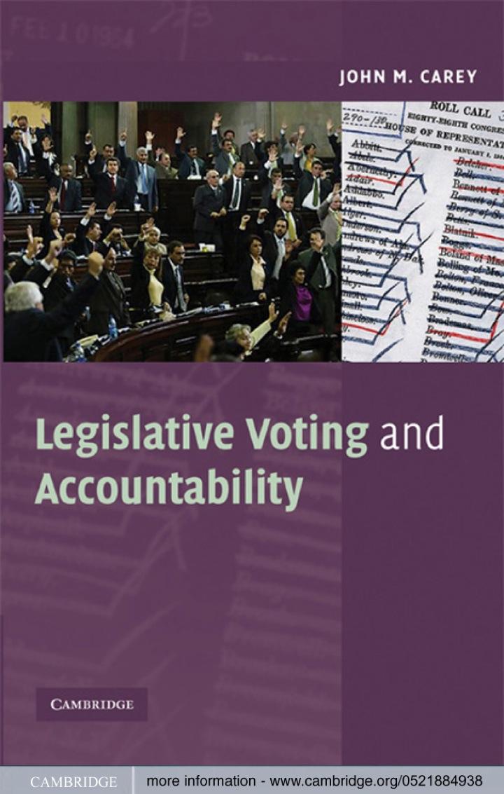 Legislative Voting and Accountability