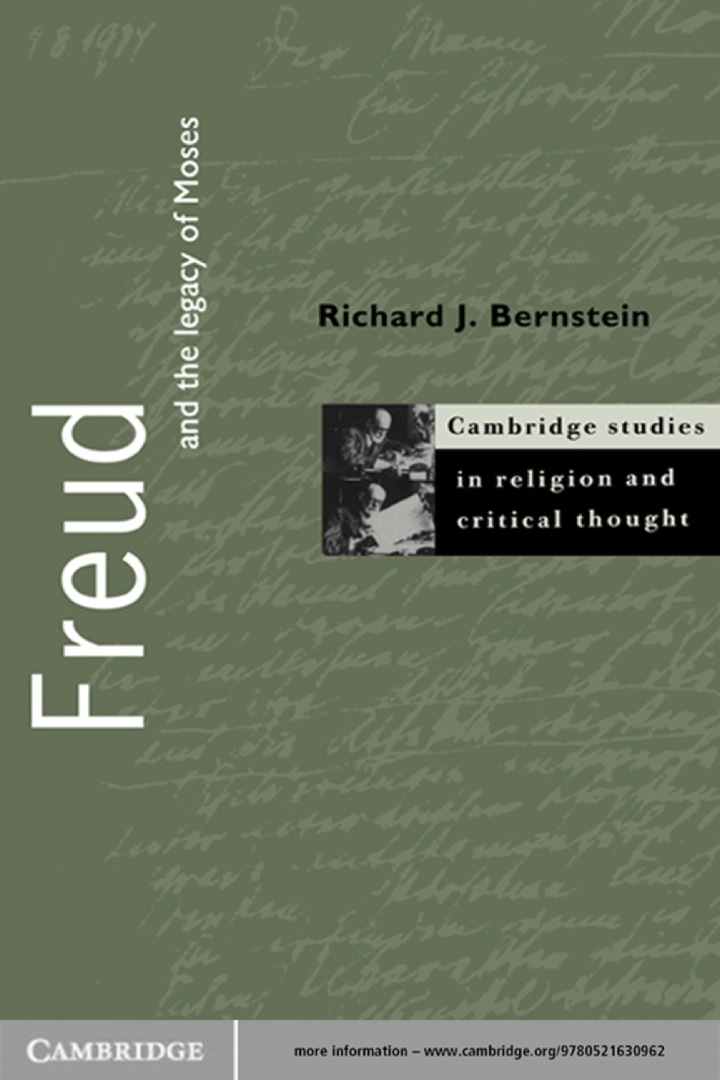 Freud and the Legacy of Moses