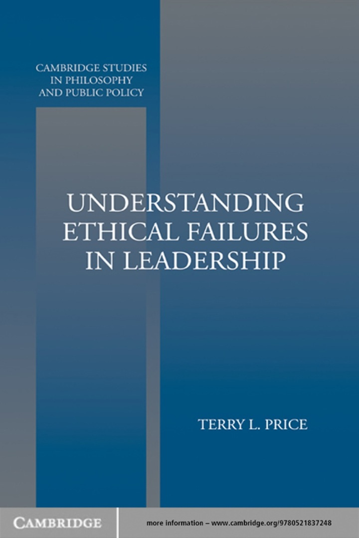 Understanding Ethical Failures in Leadership