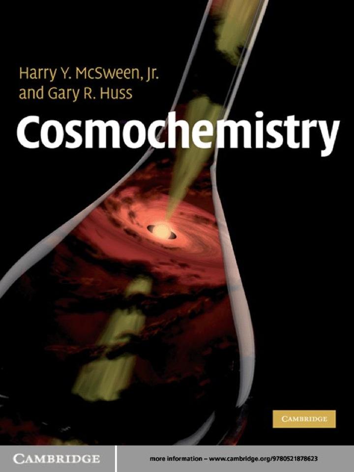 Cosmochemistry