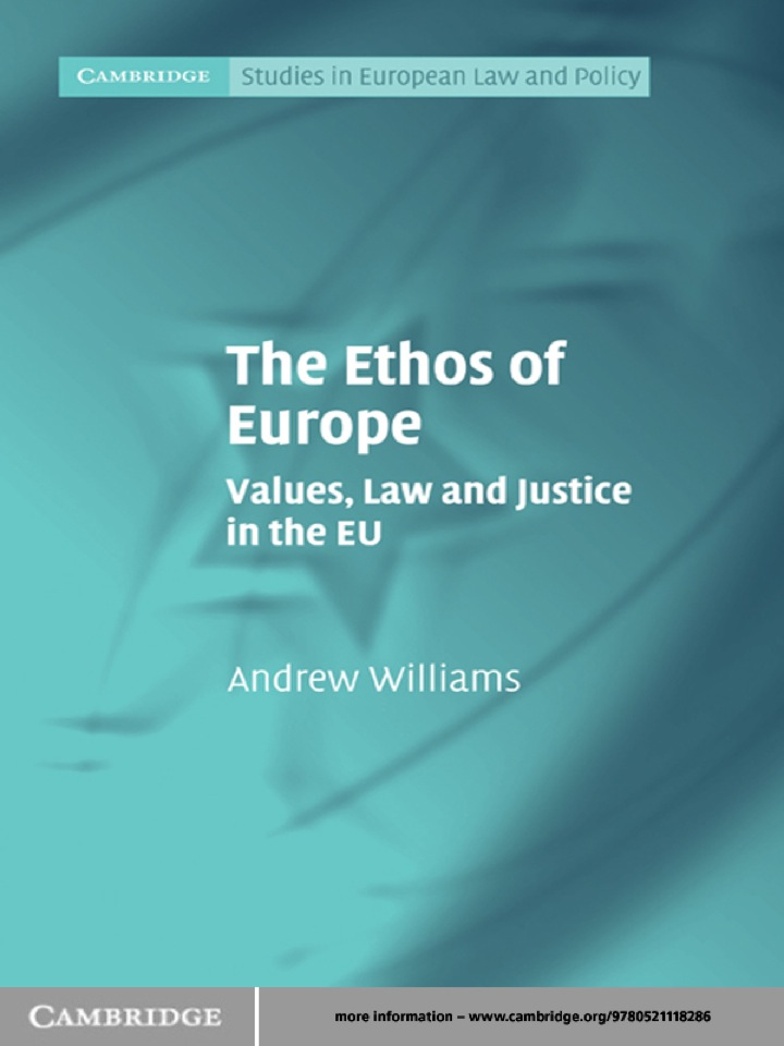 The Ethos of Europe