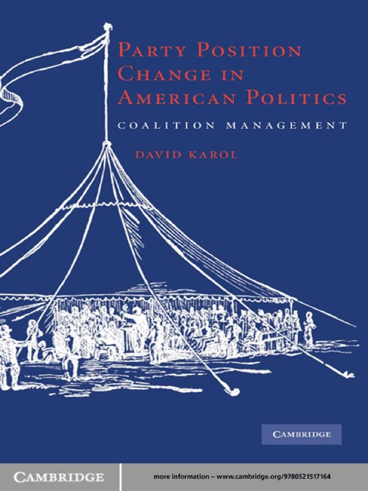 Party Position Change in American Politics