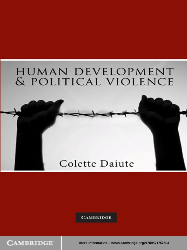 Human Development and Political Violence