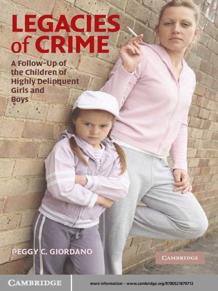 Legacies of Crime