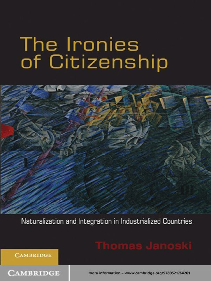 The Ironies of Citizenship