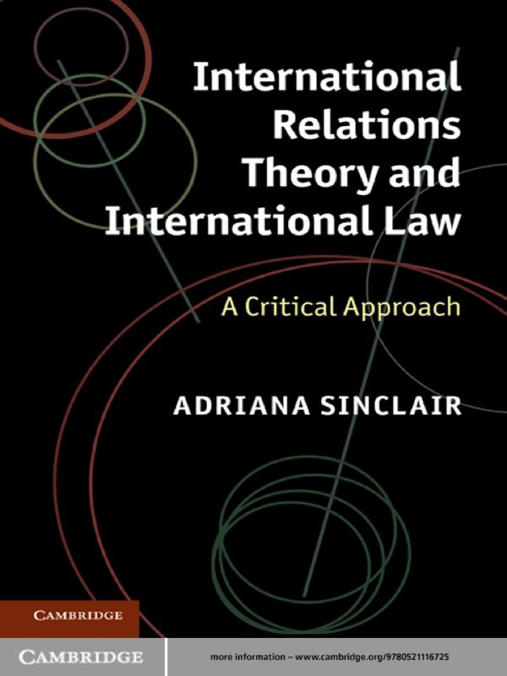 International Relations Theory and International Law