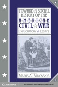 Toward a Social History of the American Civil War 9780511878374