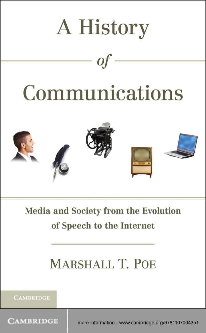 A History of Communications