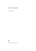Eco-Sonic Media 9780520961494