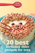 Betty Crocker 20 Best Birthday Cakes Recipes for Tots 9780544201651