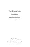 The Christian Faith 9780567658869