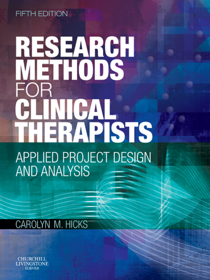 Research Methods for Clinical Therapists E-Book