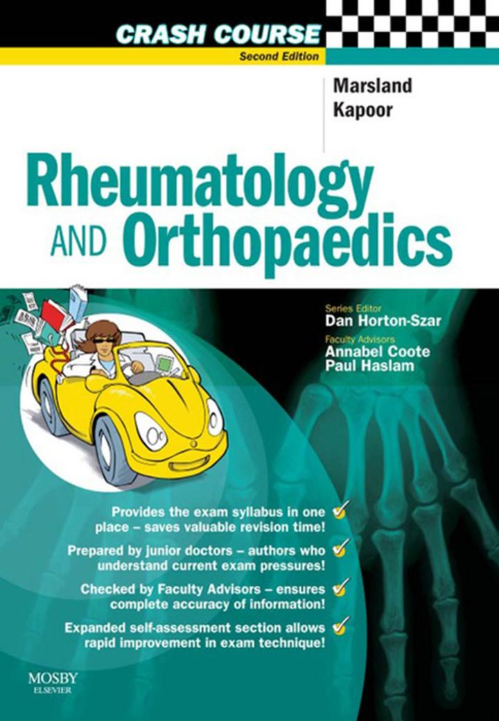 Crash CoursE Rheumatology and Orthopaedics E-Book