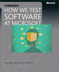 How We Test Software at Microsoft 9780735638310