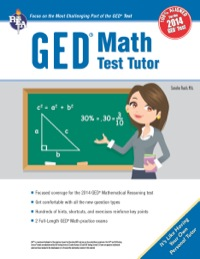 GED® Math Test Tutor, For the New 2014 GED® Test              by             Sandra Rush