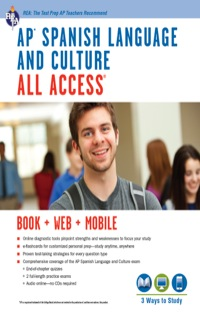 AP Spanish Language and Culture All Access w/Audio              by             Veronica Garcia