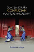 Contemporary Confucian Political Philosophy 9780745676043