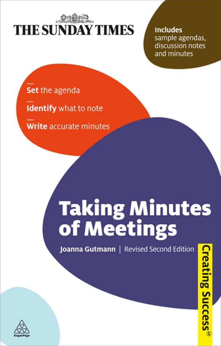 Taking Minutes of Meetings: Taking Minutes of Meetings