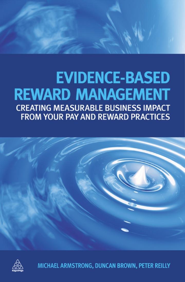 Evidence-Based Reward Management