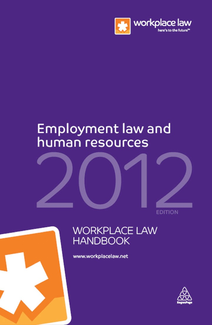 Employment Law and Human Resources Handbook 2012