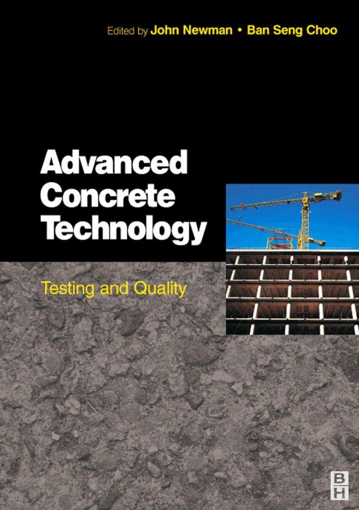 Advanced Concrete Technology 4: Testing & Quality