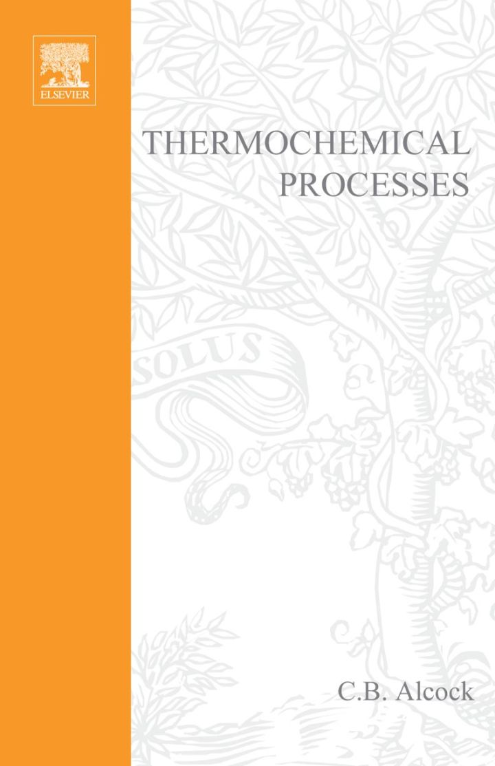 Thermochemical Processes: Principles and Models: Principles and Models
