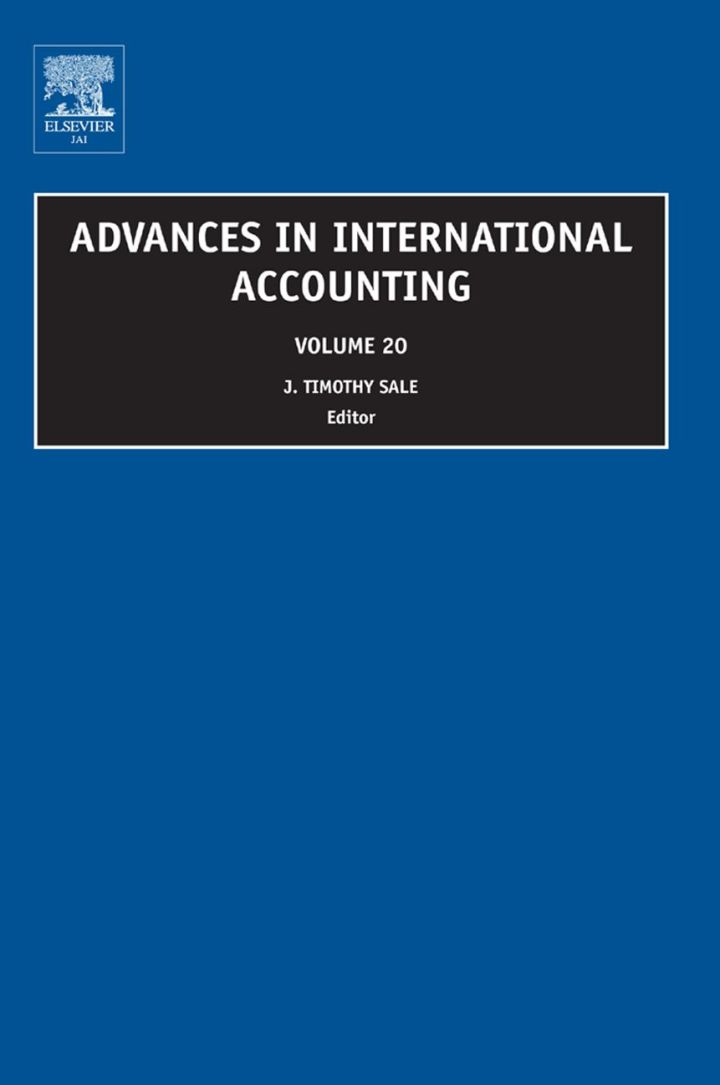 Advances in International Accounting