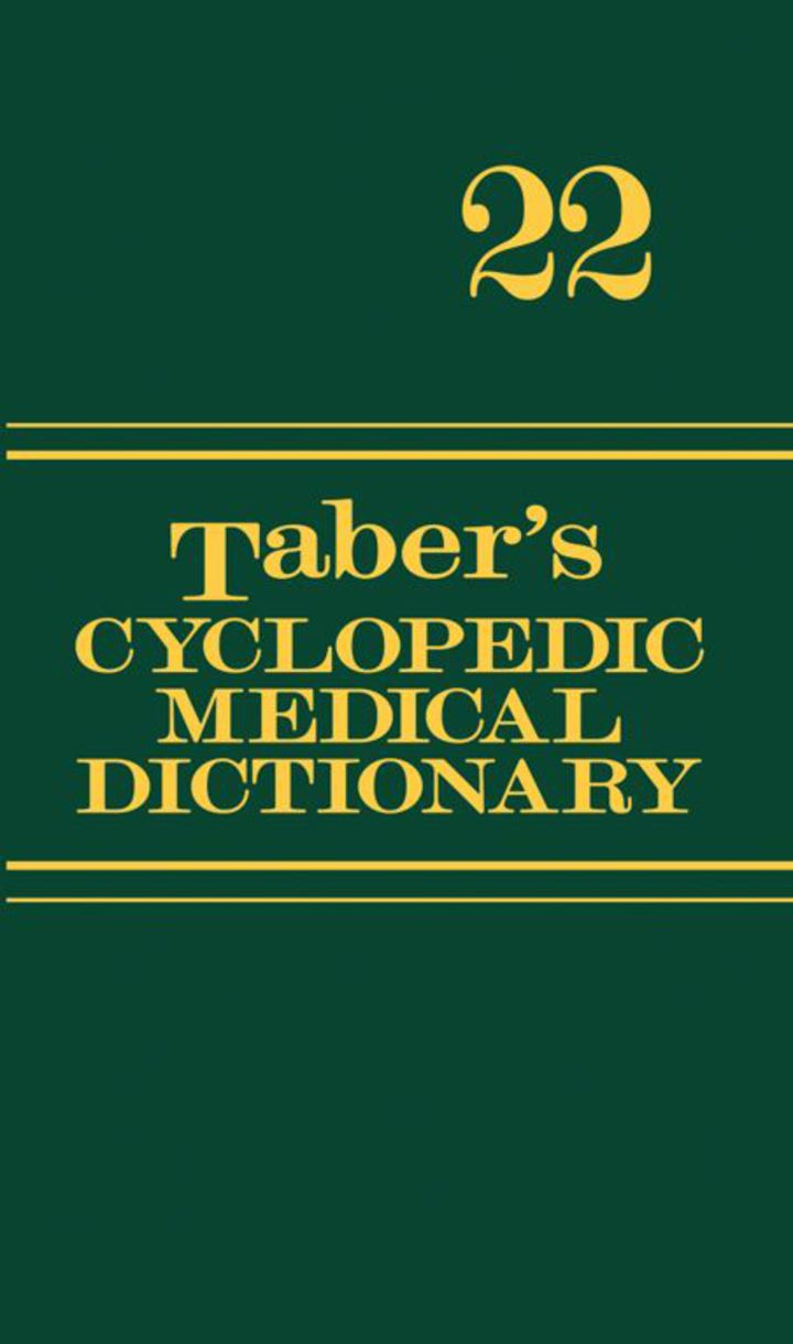 Taber's Cyclopedic Medical Dictionary