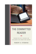 The Committed Reader 9780810885974