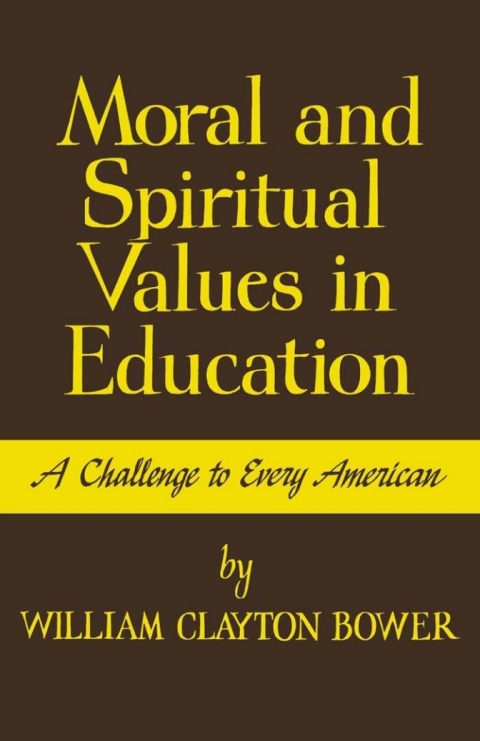 the challenge of moral education