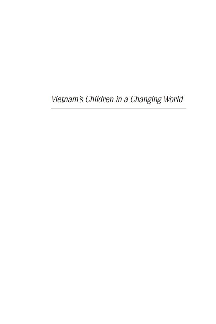 Vietnam's Children in a Changing World