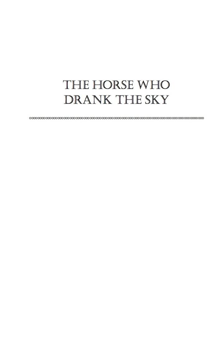 The Horse Who Drank the Sky