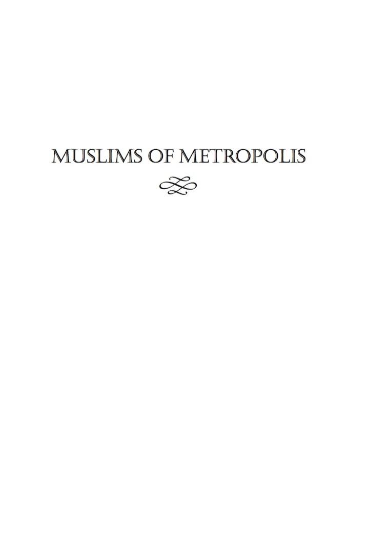 Muslims of Metropolis