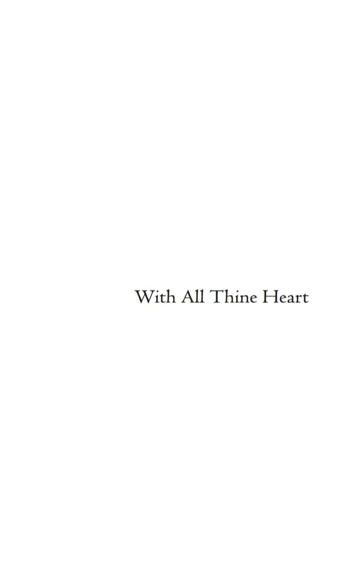 With All Thine Heart