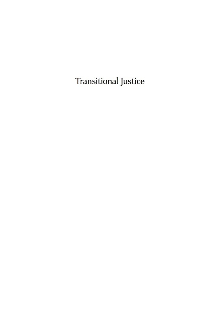 Transitional Justice